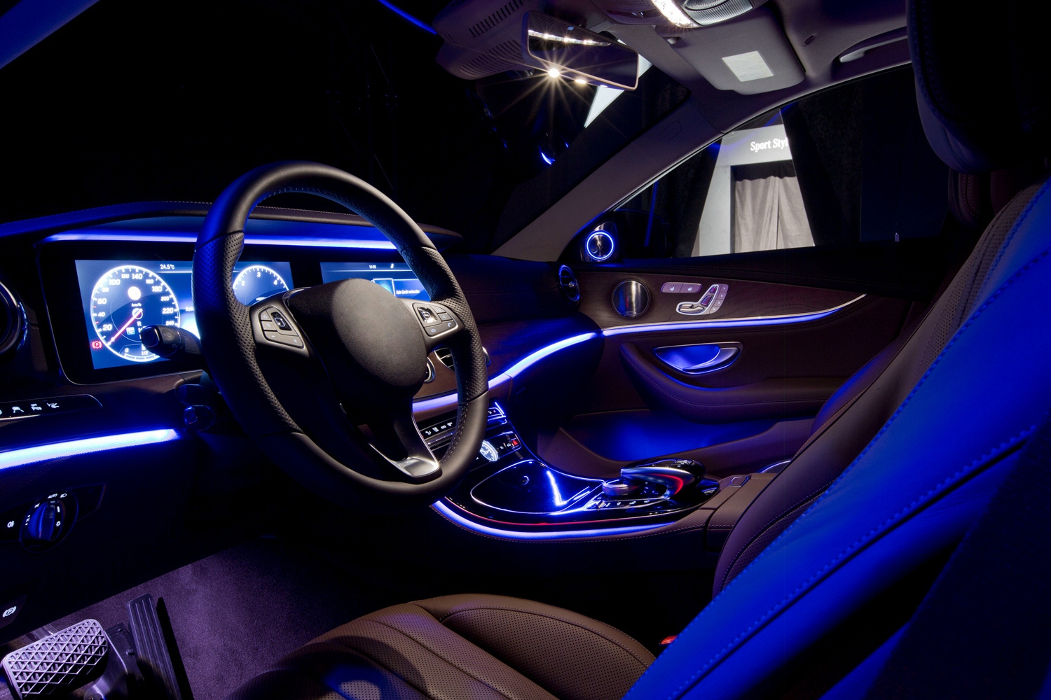 Car interior and atmosphere lights